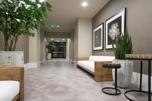 Commercial Office Tile Floor Columbia South Carolina